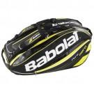 Babolat Schlägertasche Pure Aero Holder X12 - schwarz/gelb