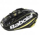 Babolat Schlägertasche Pure Aero Holder X9 - schwarz/gelb